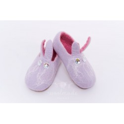felt children's slippers